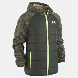Under armour Trakker Hooded Hybrid Jacket YMD M